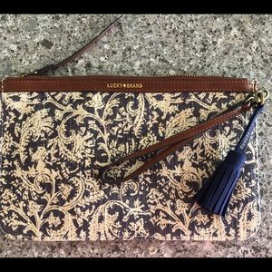 Lucky Brand - Clutch Purple Paisley
